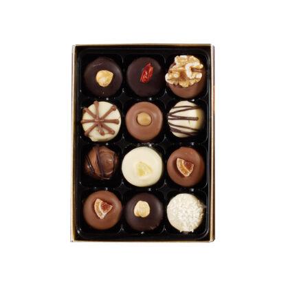 mixed chocolate box of 12